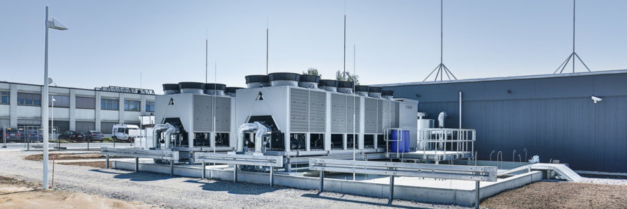 New envia TEL Data Center with energy efficient air conditioning from STULZ.